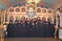 Духовенство приходов Азовского округа
