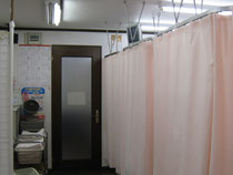 光整骨Lカイロプラクティックの診療室