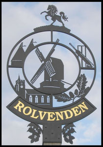 The Rolvenden Village Sign.
