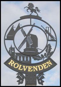 The Rolvenden Village Sign.
