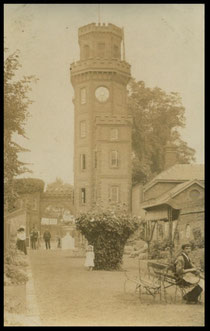 Entrance to Rosherville Gardens, Gravesend..