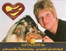 Gutschein Hundetraining mit Herz