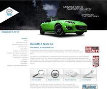 MazdaUKの特別仕様車「Mazda MX-5 Black」