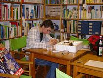 Projektmaterialien in der Umweltbibliothek
