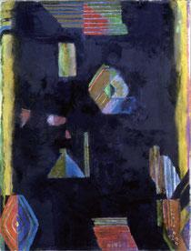 40回アンデパンダン展 「夜のとばり」