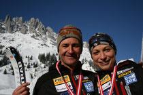 Die neuen Österreichischen Meister Alex Lugger und Michi Essl