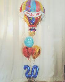 20歳のお祝いバルーン🎈