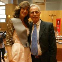 Jesús Hermida y, Ariadna Serna. 2012