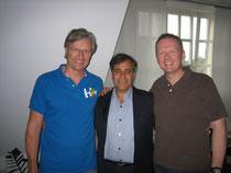 Gemeinsam mit Dr. Tedd Koren, DC während der Ausbildung