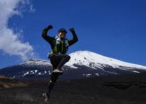 富士をかける