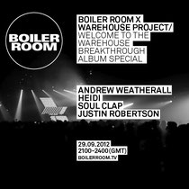 Warehouse Project | Boiler Room
