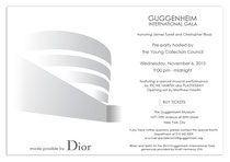 Guggenheim International Gala (GIG)
