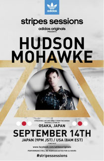 Stripes Sessions | Hudson Mohawke