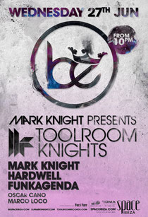 Toolroom Knights Ibiza