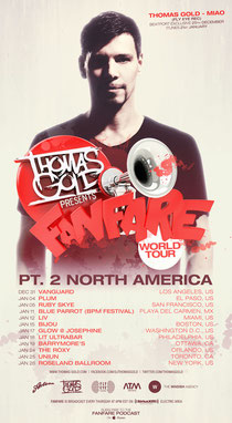 Thomas Gold | Fanfare World Tour