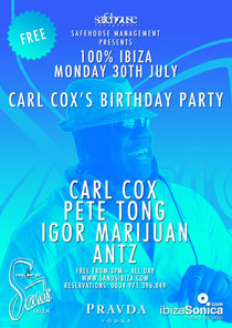Carl Cox Birthday Party