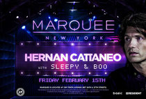 Marquee New York | Hernan Cattaneo
