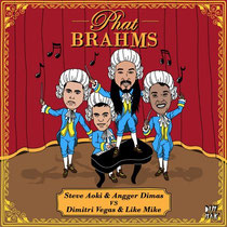 Dimitri Vegas, Like Mike, Steve Aoki and Angger Dimas | Phat Brahms