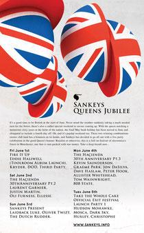Sankeys Jubilee Weekend