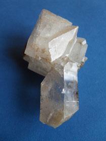 Bergkristall mit Adular aus der Oberaar