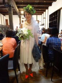ブライダル ヘッドドレス