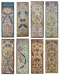Jeu de cartes des Mamelouks, XIème siècle, Égypte
