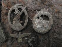 Coast artillery & Flak artillery badges