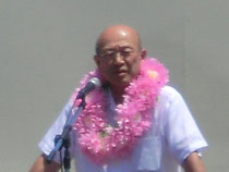 三上元 湖西市長