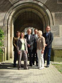 Der Stiftungsvorstand: Roland Eisele, Sonja Matysiak, Guido Till, Rolf Ulmer, Hede Zoller, Siegfried Hartmann (v.l.)