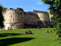 Château Ducal à Caen