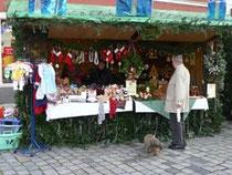 Bürger für Berber auf dem Weihnachtsmarkt