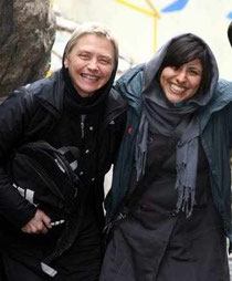 Maryam Maid und Petra Landers