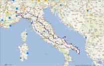 Italia tour 2012 TTT