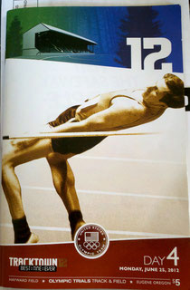 program from track & field trials