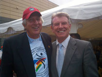 Governor Otter & Dick Fosbury
