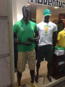 sehr selten: Hinweise auf die WM in Rio de Janeiro