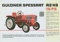 Prospekt Güldner Spessart A2KS