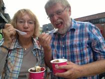 Eine unserer Lieblingsbeschäftigungen: Frozen Yogurt (hier in NYC)