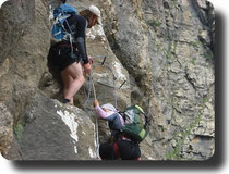 curso Manejo de cuerdas. Guía de montaña y barrancos