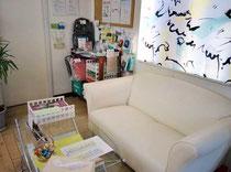 パソコンITステーション津久井教室内の休憩スペース