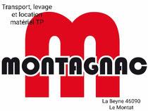 Montagnac MTT sponsor de l'événement merci à eux, transport, levage, location matériel TP, terrassement...