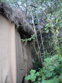 ンダラクワイキャンプ私が、三泊した外観