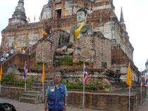 タイの寺院で