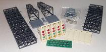 Resine Startampel mit Trägerbausatz und Kleinteilen (LED, etc.)