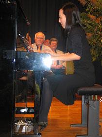 Die Pianistin Ju-Hee Oh