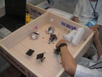 mini örümcek robot