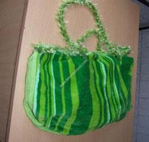 plaj havlusundan plaj çantası yapımı