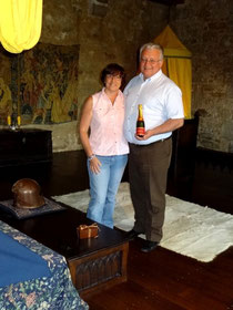 Champagne special at castle b&b France