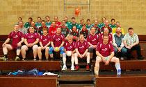 Zum 10 jährigen Jubiläum der SG Gescher / Coesfeld trafen sich aktive und ehemalige Handballer in Gescher.