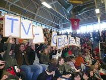 160 Mitglieder und Freunde der Handballabteilung des TV Gescher verfolgten im eigenen Block das Handball-Bundesligaspiel TUSEM Essen gegen den SC Magdeburg.